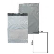 Курьер-пакет 240x320мм с карманом 60 мкм